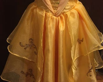 2017 Beauty and the Beast Movie Belle Ball Gown,