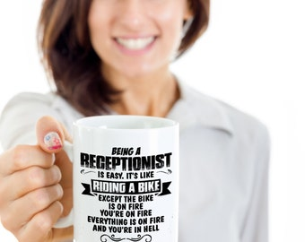 Receptionist Mug - Receptionist Coffee Mug