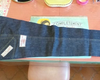jeans style USA brand filed FAN's! 1950 s made in France