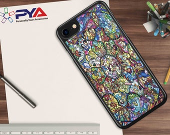 Disney Character Collage Phone Case for Apple iPhone and iTouch Devices