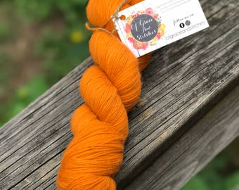 "Sock Yarn - ""IMC SOCK"" in 'Not Another Pumpkin'"