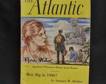"Vintage ""The Atlantic"" Magazine November 1949 Very Good Condition"