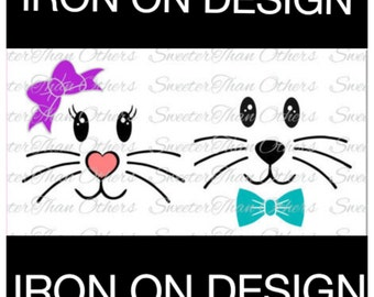Iron On Easter Decal