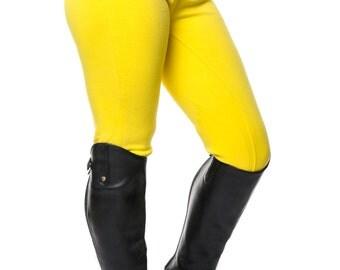 Ladies Yellow Horse Riding Jodhpurs