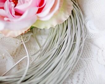 Silver Circular Purl-Pearl Purl- Metalic Wire-Silver Wire- Cirkular wire-Gijai
