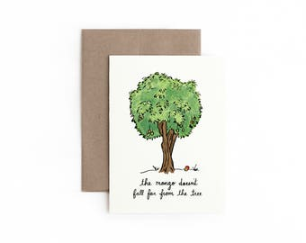 Mango Tree Greeting Card / Mother's Day / Made in Hawaii