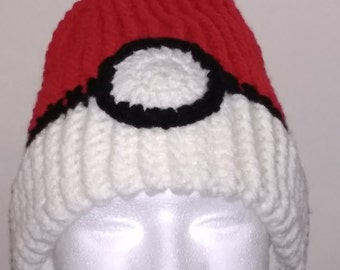 Pokemon Go Pokeball Hat