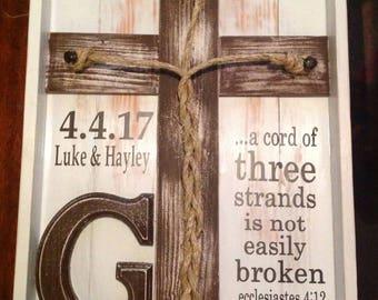 Three strand not broken sign