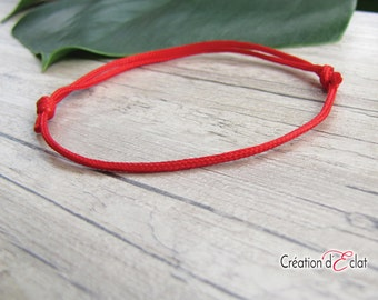 Kabbalah bracelet / kabbalah bracelet / thread / string red - Creation of sparkle