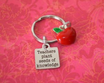 Teachers plant seeds of knowledge-teacher gift, gift for teacher, teacher appreciation, special needs teacher gift