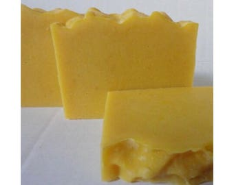 Organic Carrot, Mild, Organic, Cold Process, Vegan, Handmade Soap