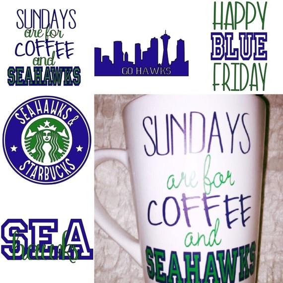 Seahawks Coffee Mugs/ Glasses/ Travel Cups
