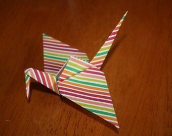 20 Origami Crane Wedding Favors Bright Colors BC1/3