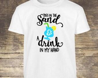 Summer T-Shirt, Beach T-Shirt, Beach Tee, Beach Apparel, Summer Apparel