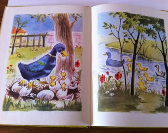 1950's French Children's Book - Contes D'Anderson, Editions Bias, Illustrated by Societe Nouvelle.