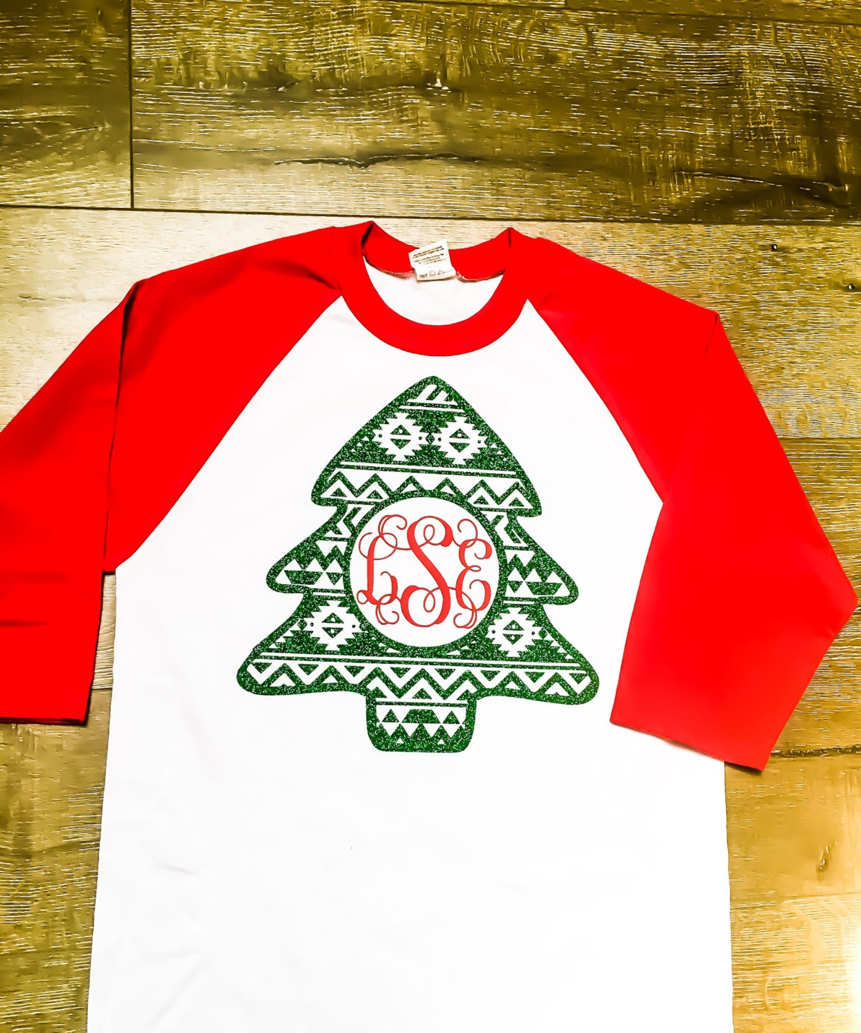 Mary Monogram Christmas Shirt for Wo...