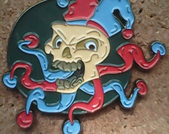 Jester hat pin