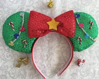 Christmas Mouse ears, Mouse ears, Holiday mouse ears