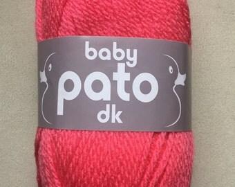 Cygnet Pato baby yarn - Rose DK - 50g ball - Baby wool - crochet yarn