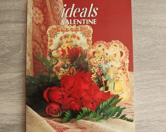 Ideals Valentine Issue 1987, Red Roses and Frames Soft Cover