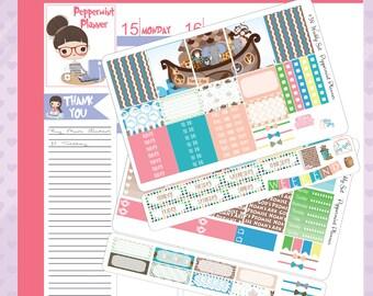 E Planner Noah's Ark Weekly Planner Stickers #38