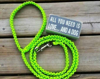 Handmade dog leash