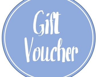 Blue and Bray Gift Voucher