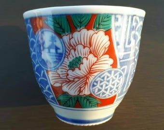 Tea cup, sake cup, japanese tea cup, chinese cup, ceramic shot cup, japan pottery, japan ceramic, asian drinkware, japan tea cup