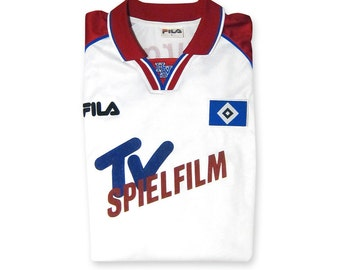 Out of stock / / Jersey Hamburg S.V. (Hamburger Sport-Verein e.V.) 1998-1999 season (Fila official / Vintage - Collector)