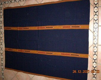 Hand-woven bedspread from Guatemala