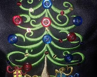Kim Rodgers christmas tree purse