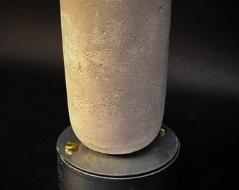 Industrial concrete baton holder ceiling light E27