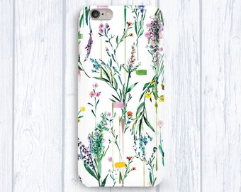 Iphone 6 Case Spring Flowers Iphone 5 Case Floral Iphone Case Iphone 6s Case Protective Case Iphone 7 Floral Case Full Wrap Case Iphone 6+