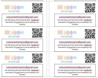 Treat for Her Business Cards / Labels