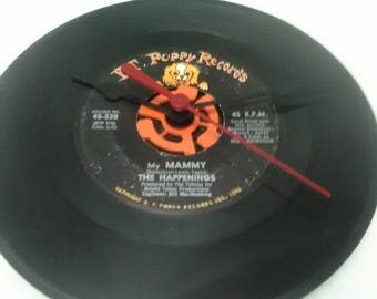 The Happenings 45 Record Clock - My Mammy