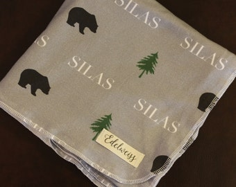 "The ""Silas"" Blanket PERSONALIZED"
