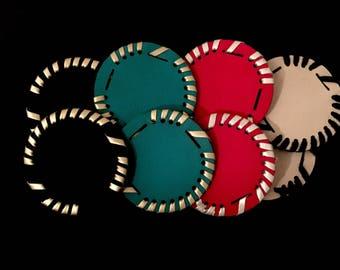 Monogram sandal disk, monogram disks, extra disks for sandals