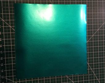 Teal Vinyl Sheet Etsy