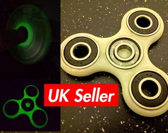 Fidget spinner toy - different colors available including glow in the dark / edc / stress toy /spinner TRI