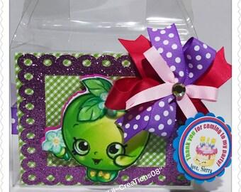 Shopkins Treats Bag, Shopkins Treats Box, Apple Blossom Favors, Shopkins Favors,  Ask a question