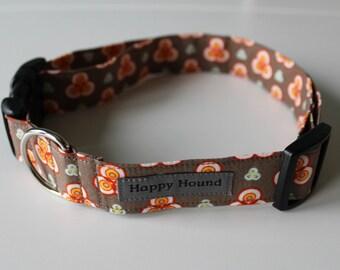Maria Dog Collar - Brown - SALE
