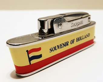 1950s Sarome Cruiser Lighter, Souvenir of Holland Made in Japan, Working