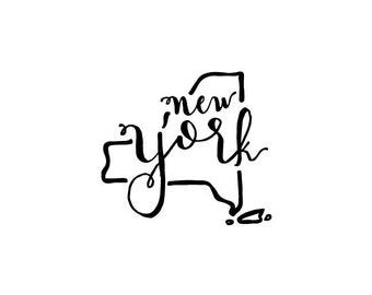 New York - printable download