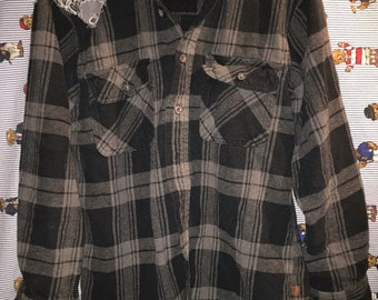"Bizar edited ""Moose Creek"" Heavy flannel"