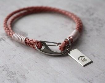 Catholic Jewellery - Saint Christopher Personalised Bracelet