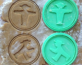 Ampelmann cookie cutter. Berlin symbol cookie stamp. Berlin's iconic brand. Germany cookies. Set of 2 cutters