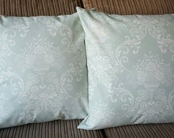 Traditional Teal Cushion Cover