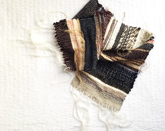 Later that night | hand woven scarf