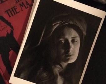 "Vintage 4x6"" Fotofolio Postcard ""Beatrice"""