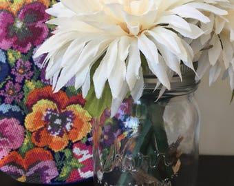 Flower Pens  - Ivory Flower Pens - Bouquet